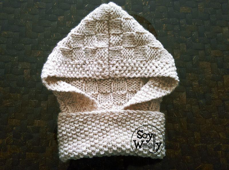 Capucha con Cuello y Orejas en todas las tallas | crochet ...