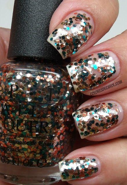 Colores De Carol Nail Polish Chunky Glitter Nails Nails
