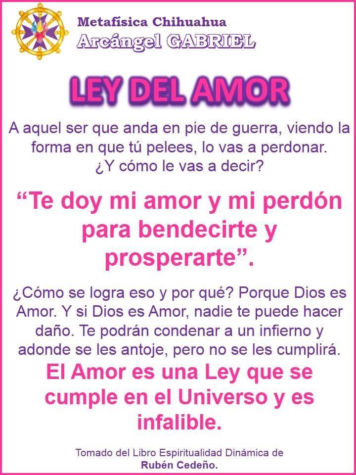 Ley del Amor.