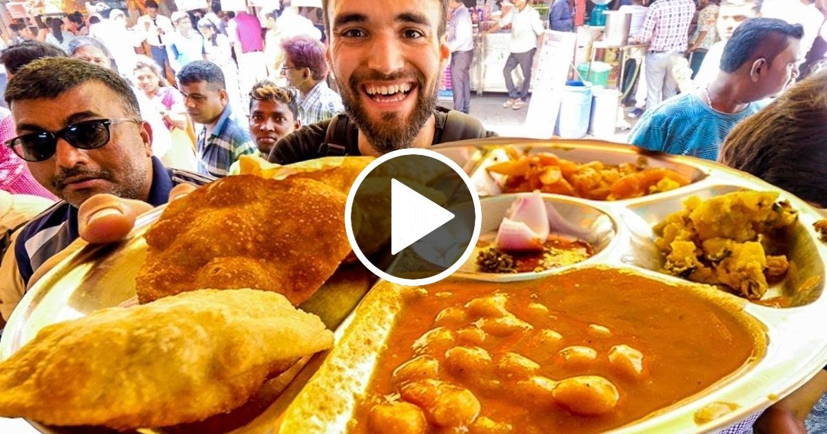 LIVING on $1 INDIAN STREET FOOD for 24 HOURS! – TRAVEL BUZZ VIDEOS