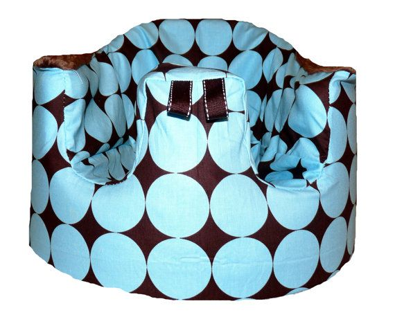 Home of the Orignial Bumbo Seat COVER in Michael Miller Blue/Brown ...