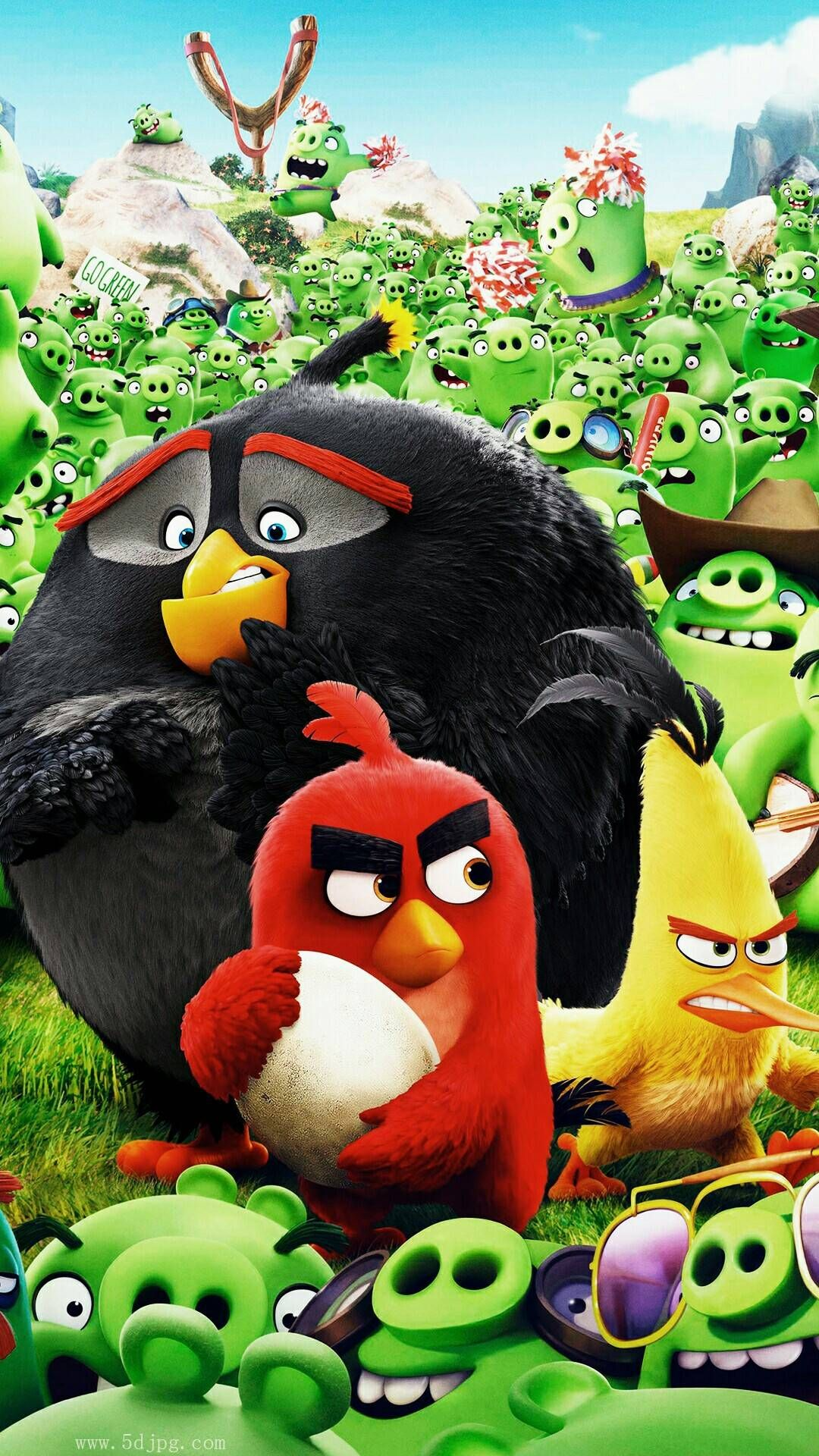 Stockwallpapersorg 15387 Angry Birds Wallpaper