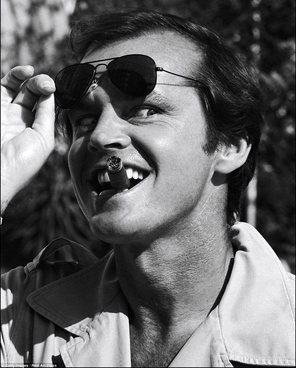 Jack Nicholson Sunglasses August 2017