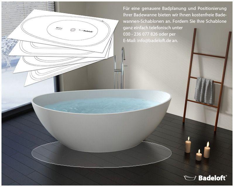 Die Ovale Freistehende Badewanne Hebt Sich Mit Seinem Ovalen Design Von Den  Klassischen Wannen Modellen Ab Und Bietet So Das Extravagante I Tüpfelchen  Für ...