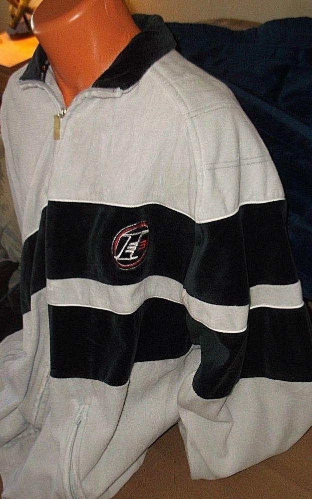 62c73dfbf VTG Reebok ALLEN IVERSON 76ers NBA Basketball warmup Fleece Zip up Jacket  SZ: XL #REEBOK #Philadelphia76ers