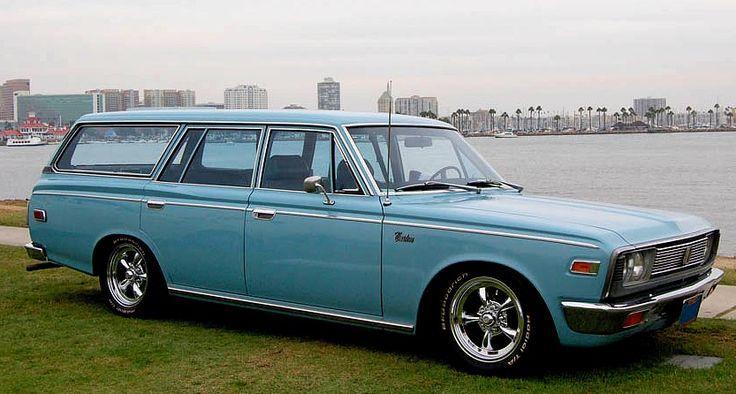1968 Toyota Crown Wagon | Toyota crown, Classic japanese ...