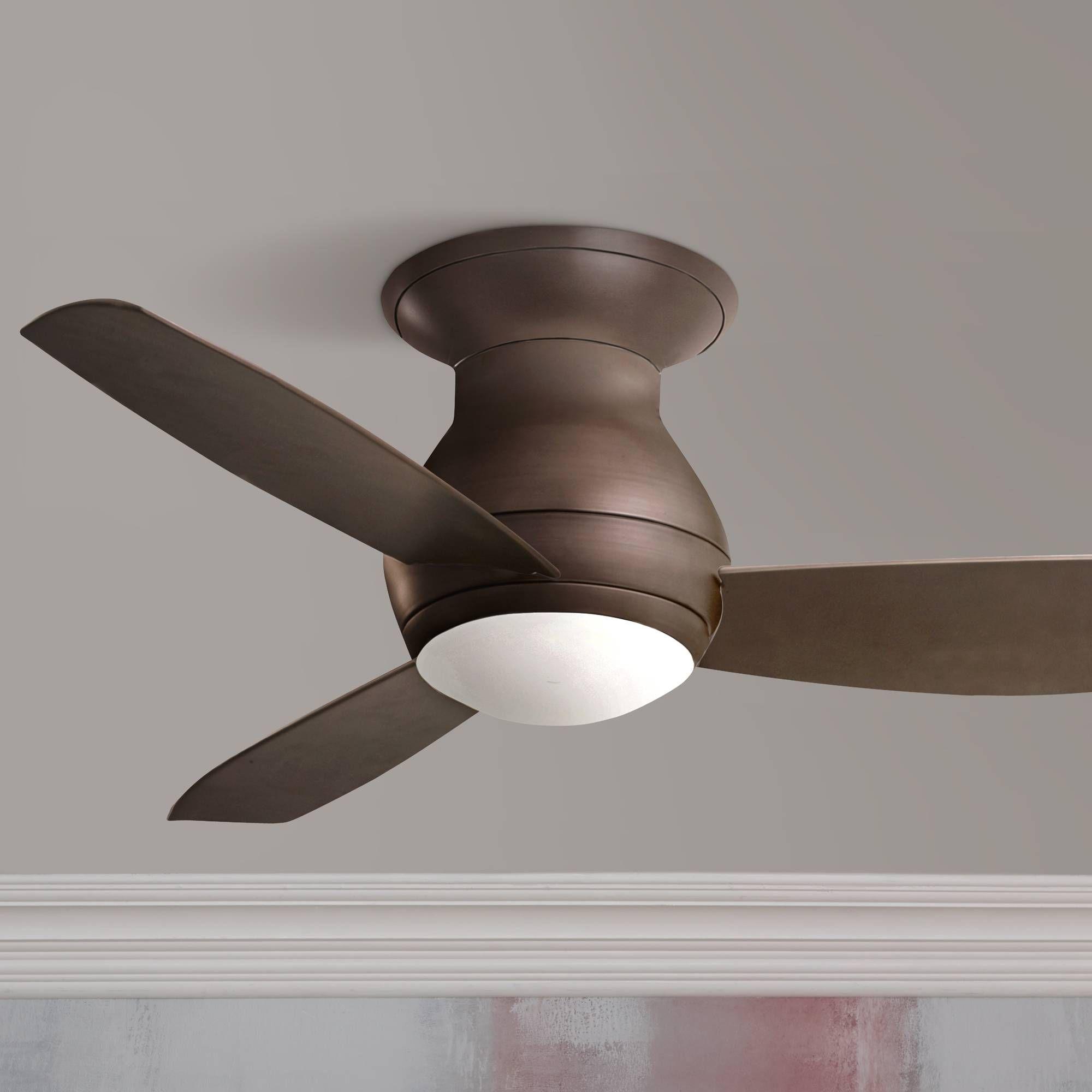"""44"""" Emerson Curva Sky Bronze Hugger Ceiling Fan N6493"""