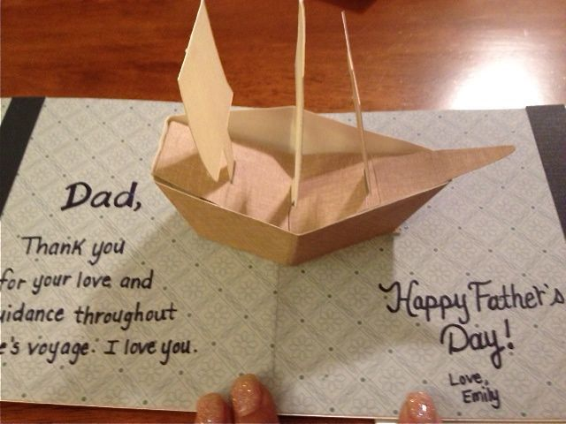 Father Day Card Emily Things Pop Up Cards Diy Pop Up Book