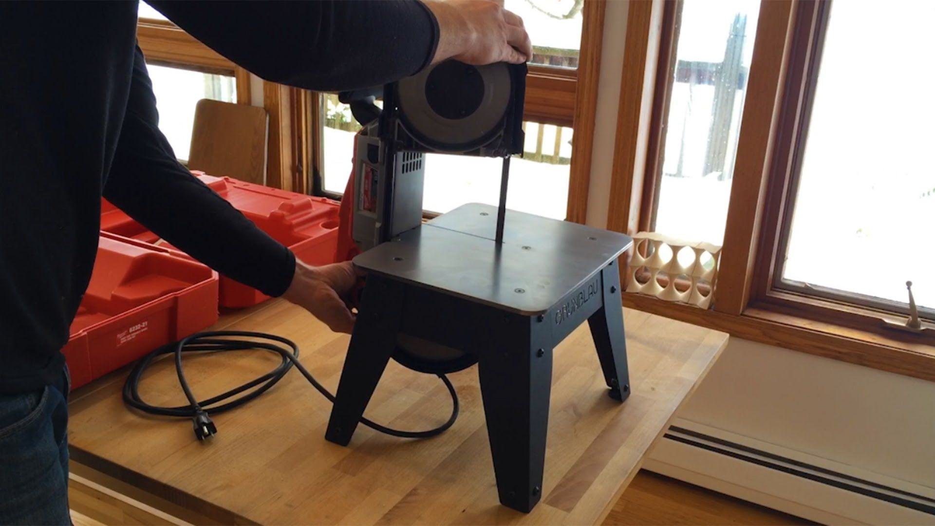 Making a Table for my Portable Bandsaw
