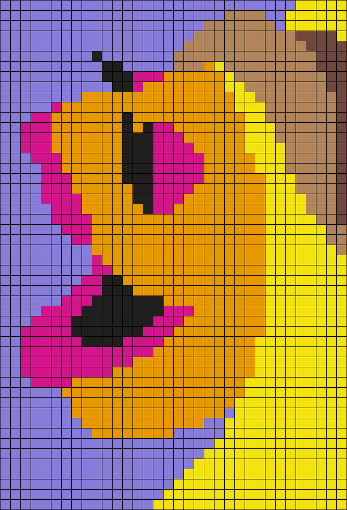 the electric mayhems janicefrom the muppets perler bead