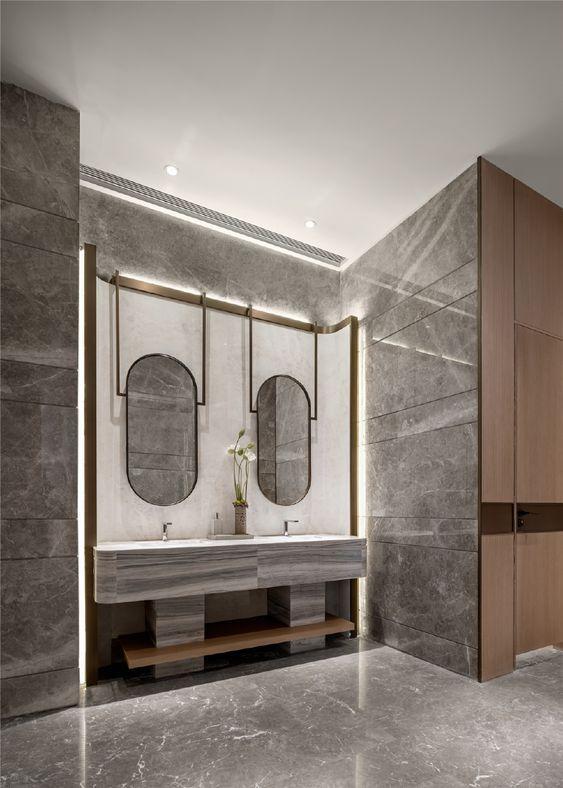 Pin By Sokim Nop On 搜图专用 Restroom Design Bathroom Interior Design Bathroom Interior