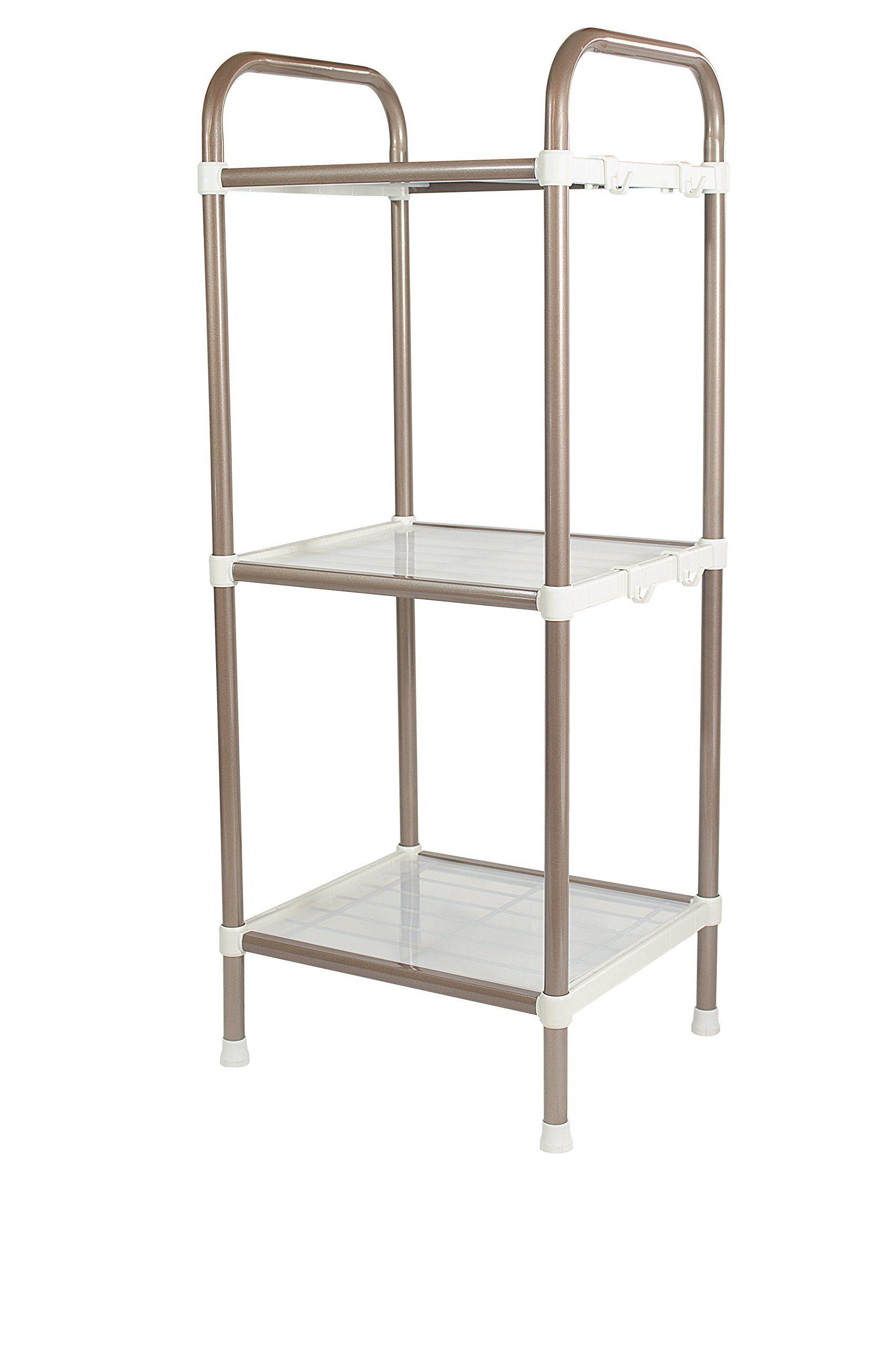 Bathroom Shelf 3 Tier Shelf Organizer Space Saving Shelf For