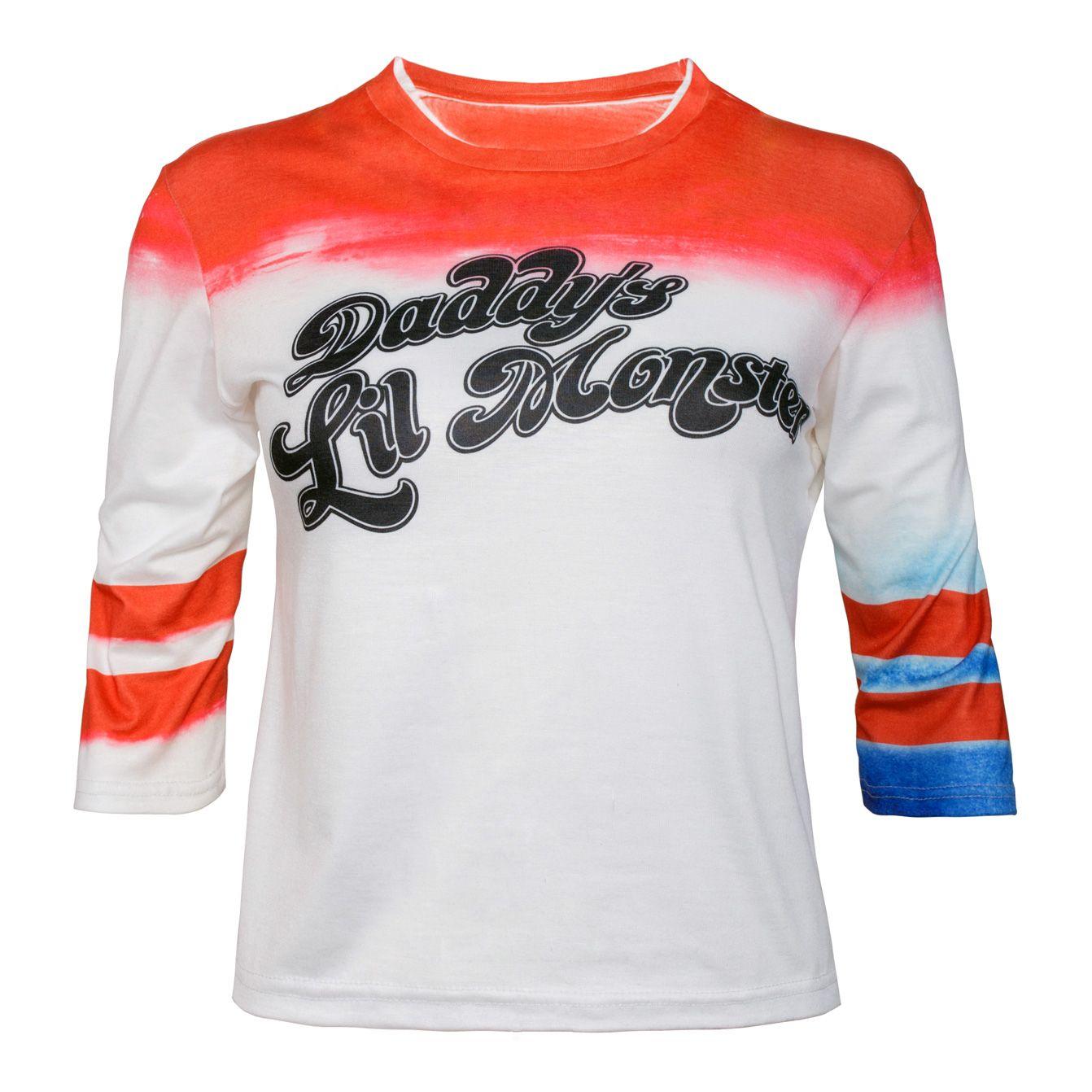 Suicide Squad Inspired Super Hero Villian Movie Film Xmas Halloween T Shirt
