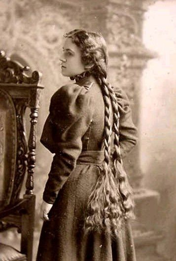 victorian braids  vintage hairstyles for long hair long