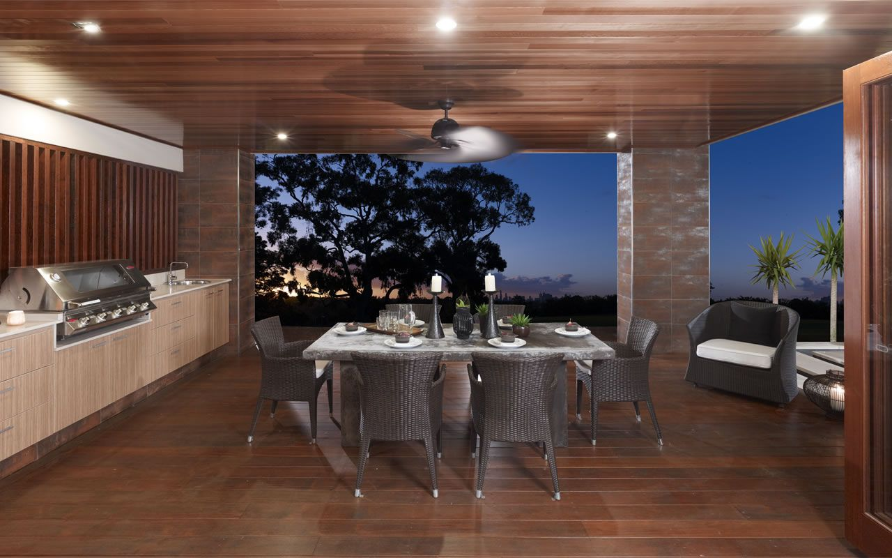 Great view while you entertain outdoors