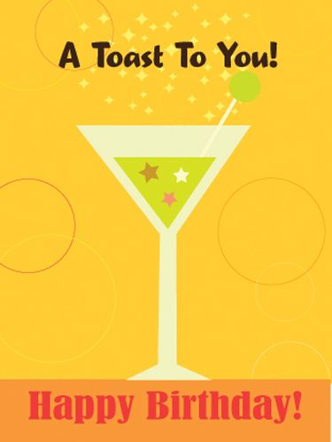 how to give a birthday toast