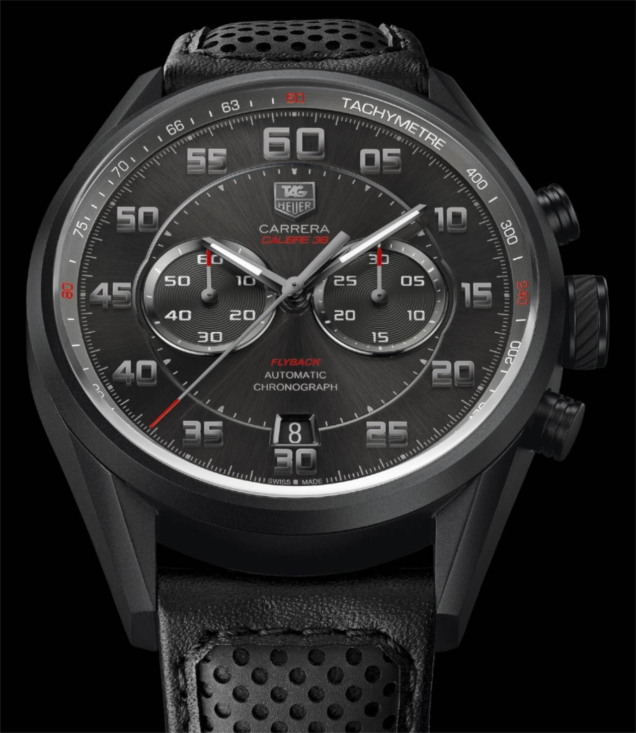 Buy your special tag heuer carrera automatic chronograph calibre 36 flyback at uhrinstinkt!