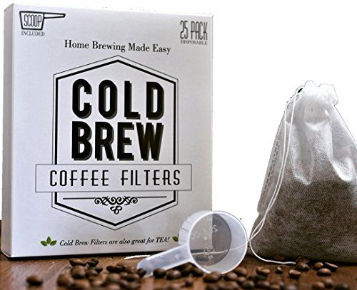 The Original Disposable Cold Brew Coffee Filter Bags 2 Quart
