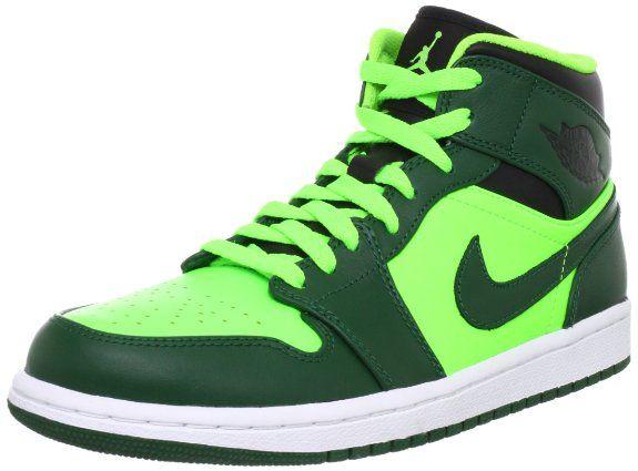 Amazon.com: Nike Air Jordan 1 Mid Mens Basketball Shoes 554724-330: