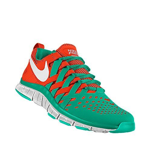 cd2f81a19fc7 Miami Dolphins Nike Free Trainer 5.0