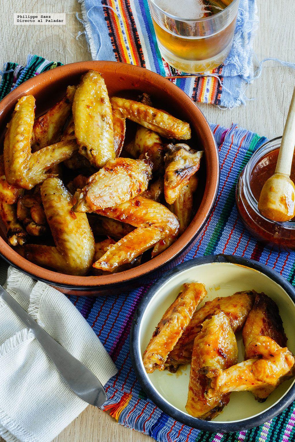 Alitas en adobo de chile chipotle receta mexicana receta directo al paladar espa a - Adobo de alitas de pollo ...