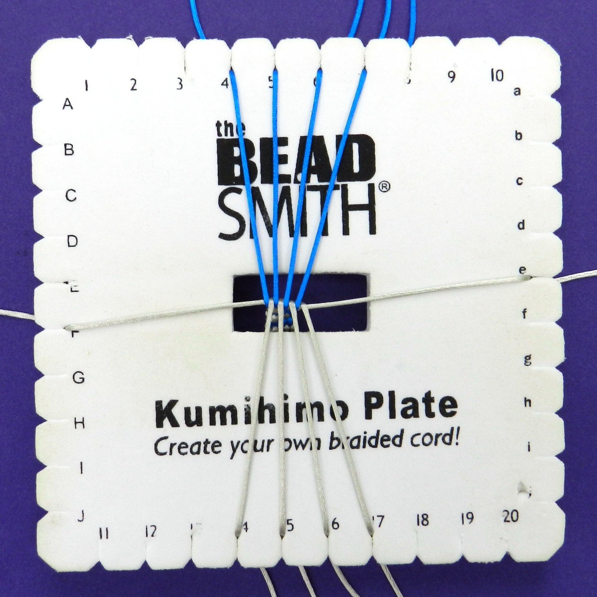 10 Cord Kumihimo Flat Braid