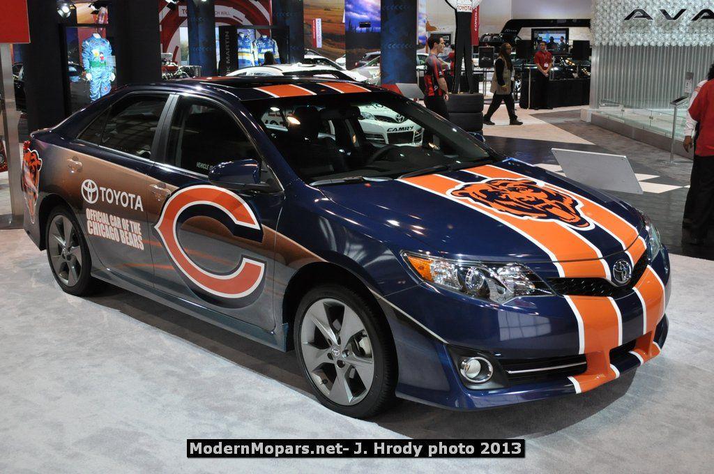 Toyota Camry Chicago Bears Custom Modernmopars Net Work Trucks Performance Cars Chicago Bears Football Chicago Bears Logo Chicago Bears