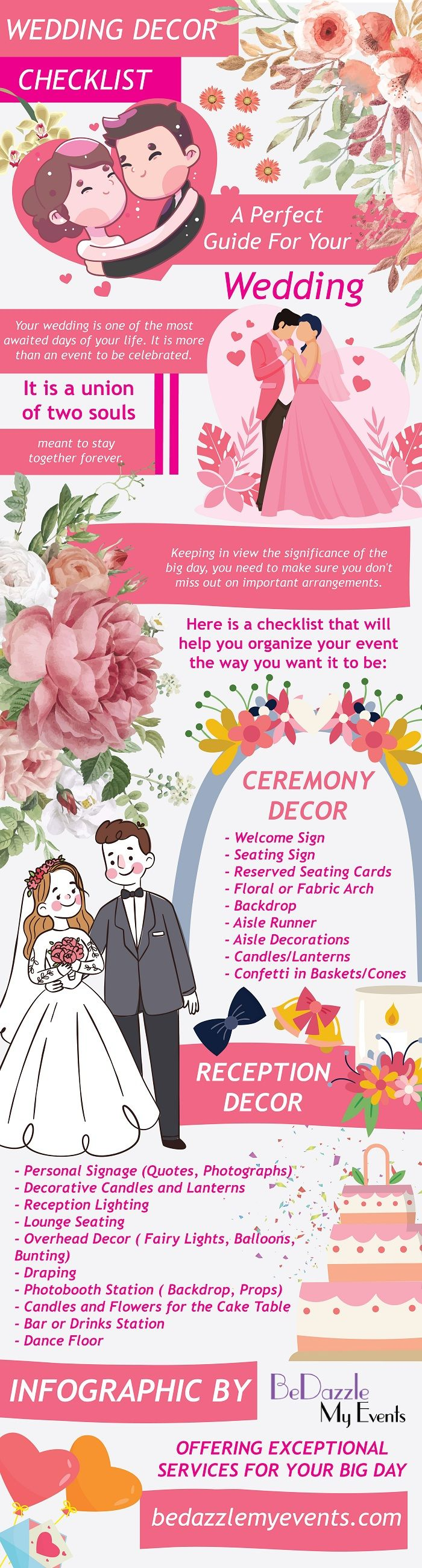Wedding Decor Checklist A Perfect Guide For Your Wedding