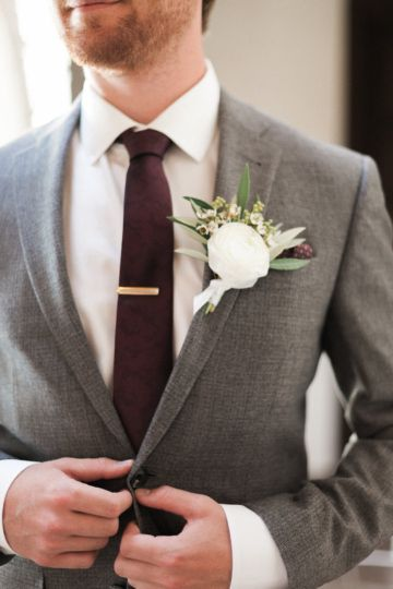 Pretty Garden Wedding With An Elegant Yet Informal Feel Groom Wedding Attire Mens Wedding Attire Wedding Suits Groom