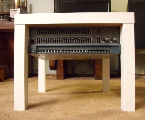 Ikea Lackrack How To Turn An Ikea Lack End Table Into