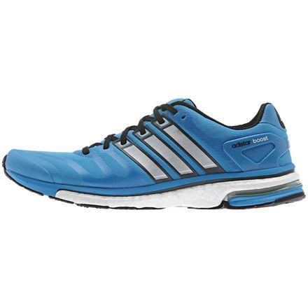 Illinois edificio radio  Men's Adistar Boost Shoes, Solar Blue / Tech Grey Metallic / Tribe Blue,  zoom | Adidas boost shoes, Boost shoes, Running shoes for men