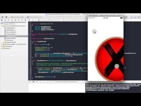 Pinchgesturerecognizer Zoom Min And Max Xcode 5 0 Youtube
