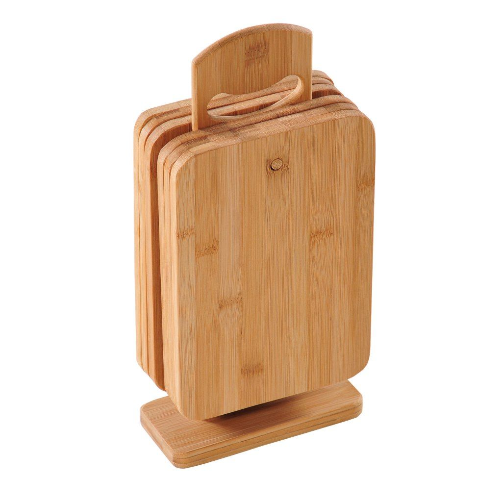 Brettchenstander 6 Brettchen Bambus Essen Trinken Pinterest