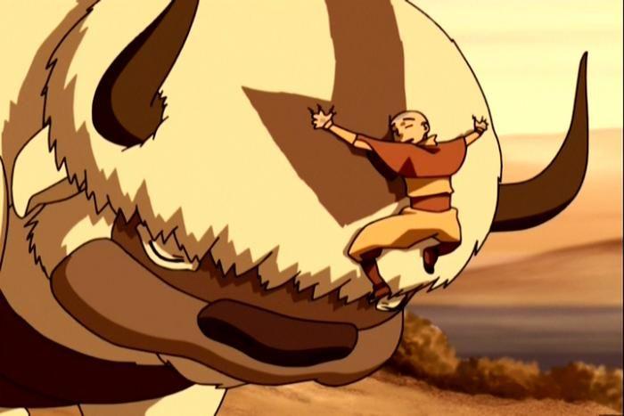 Avatar Aang and Appa Moments! Avatar aang, Aang, The