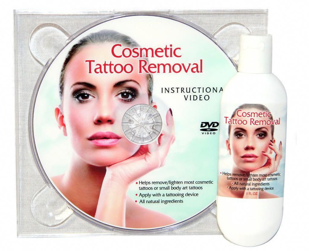 Tattoo Removal Cream Natural Permanent Makeup With Dvd