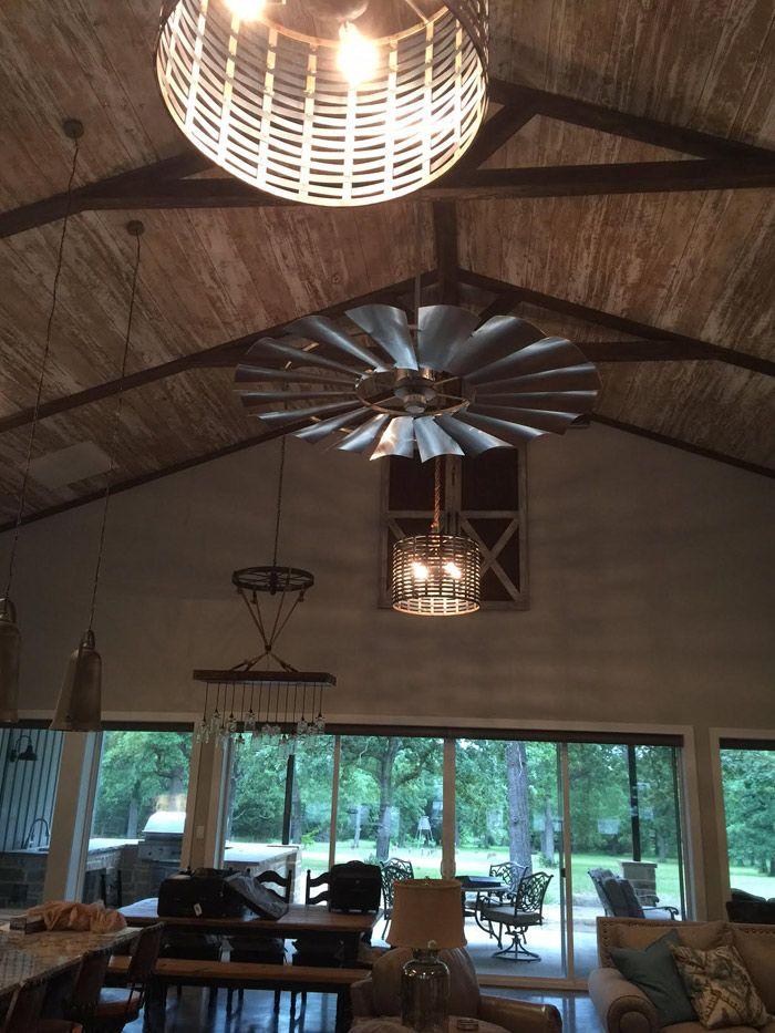 Fixer Upper Windmill Decor The Harper House Cheap Living Room
