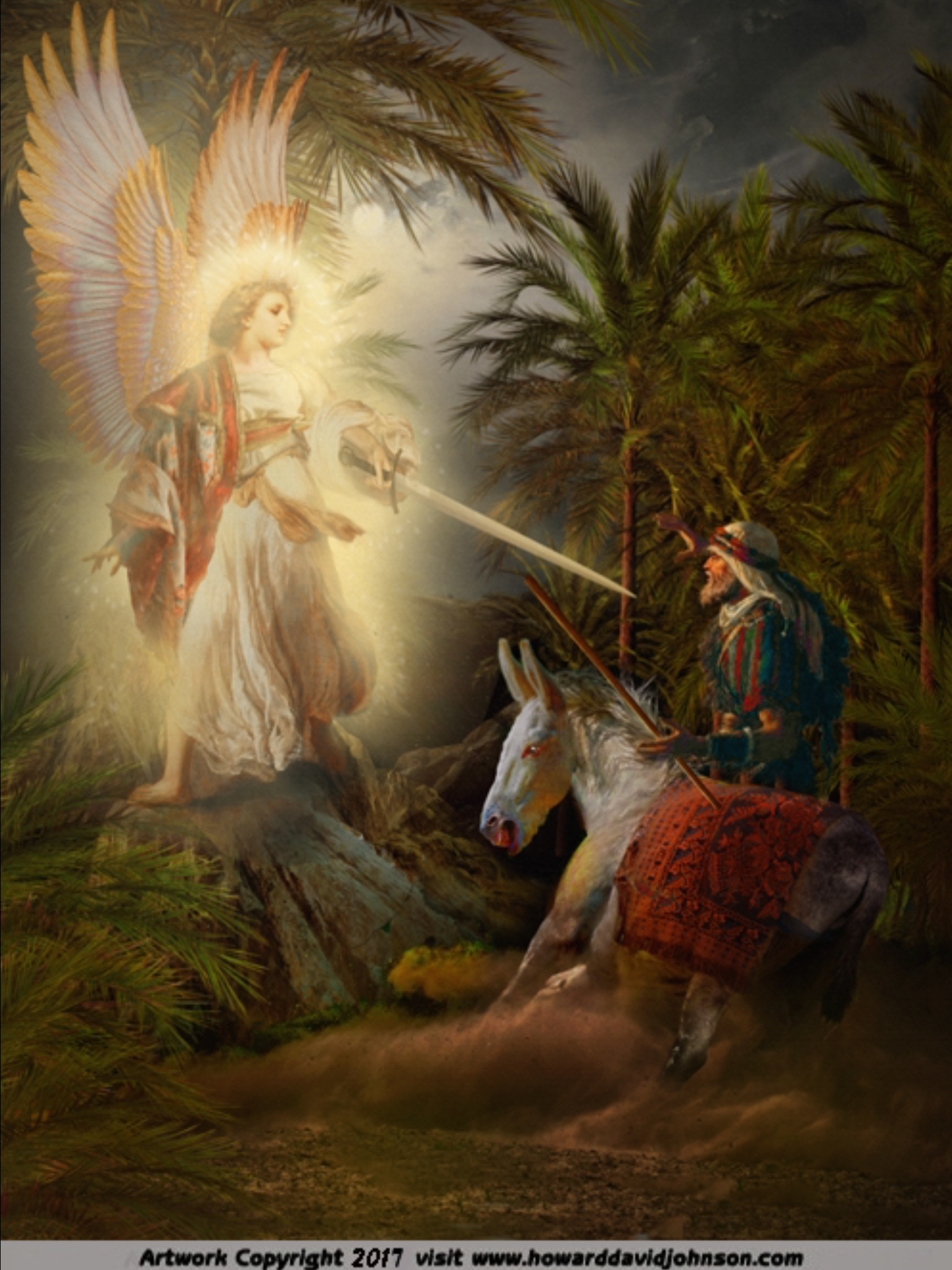 The Angel of the LORD & Balaam the false prophet ...