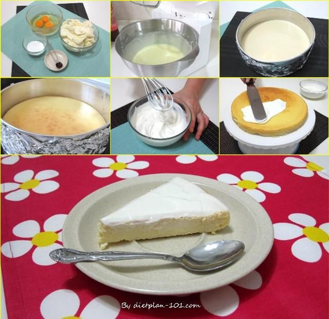 Crustless Cheesecake With Sour Cream Topping South Beach Phase 1 Recipe T Plan 101