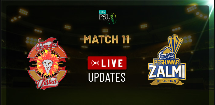 Psl Live Islamabad United Vs Peshawar Zalmi Psl Live Streaming Live Cricket Psl Live Psl