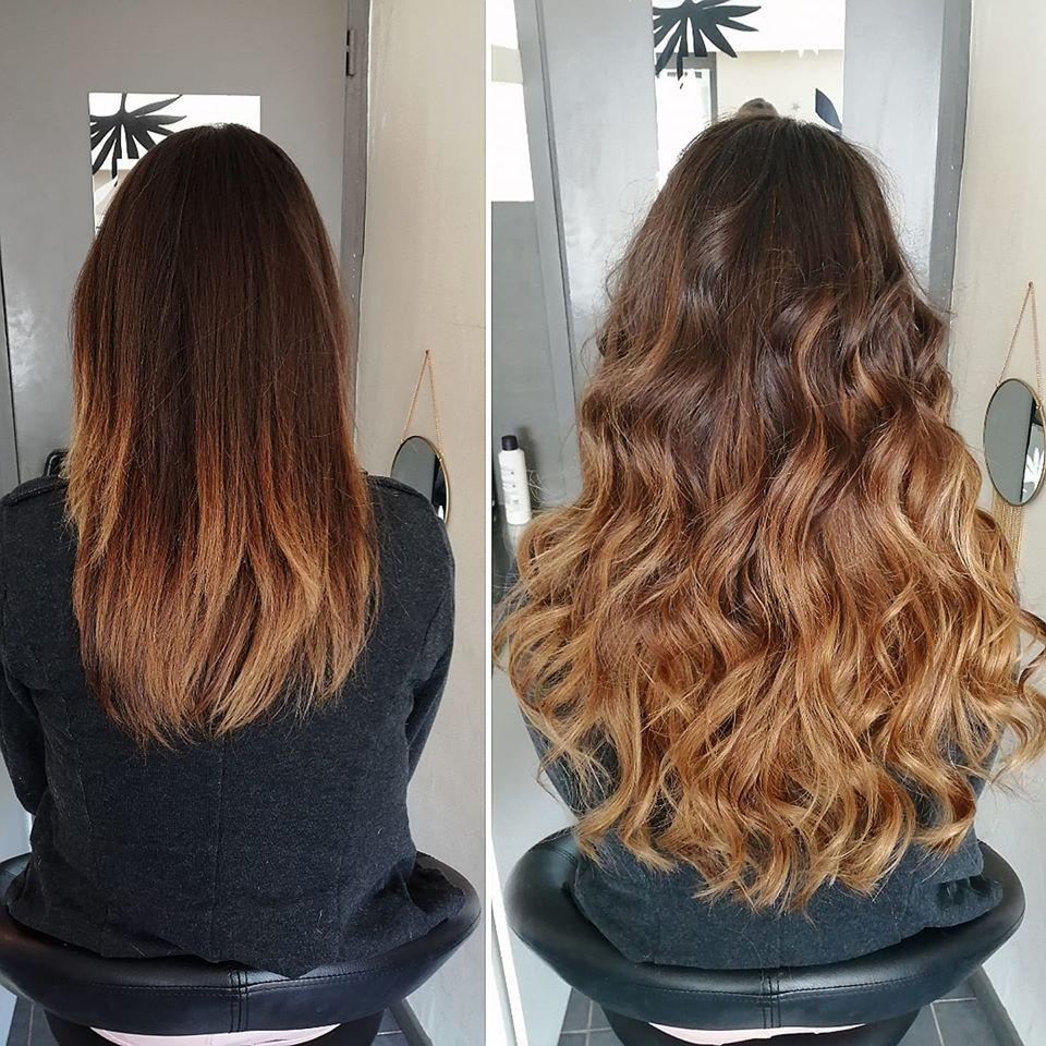 Magnifique Avant Apres En Extensions A Froid Avec Anneaux Idees De Coiffures Styles Cheveux Longs Extensions De Cheveux