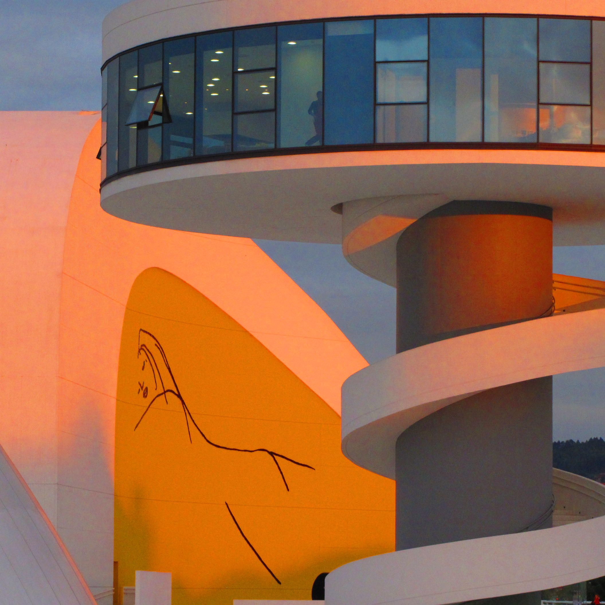 Centro Cultural Niemeyer (Avilés-Asturias)