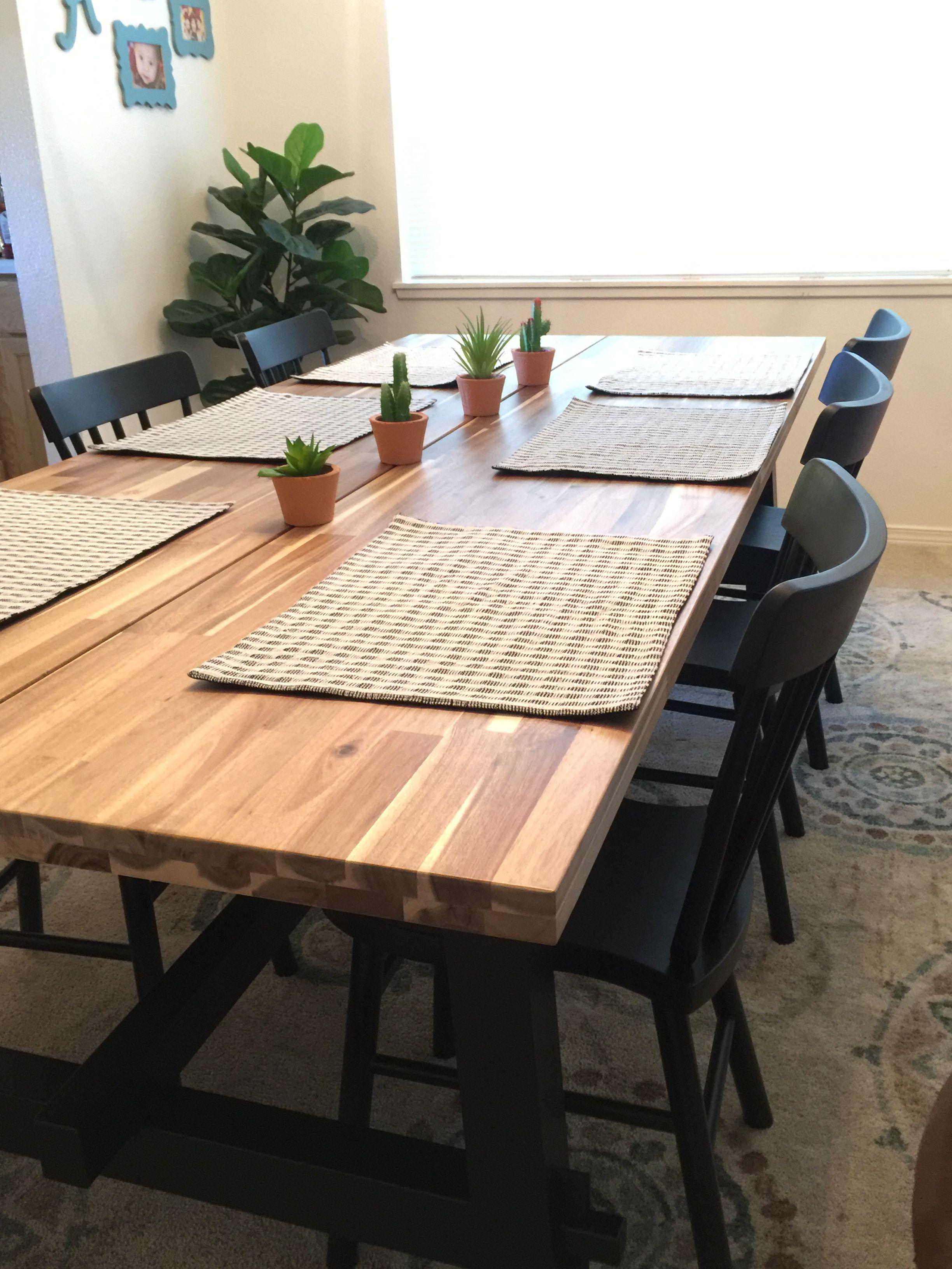 Ikea skogsta table en 2019 | Comedores, Cocinas y Balcones
