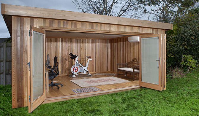 Outdoor Office | Garden Offices | Back Yard | Pinterest | Garden