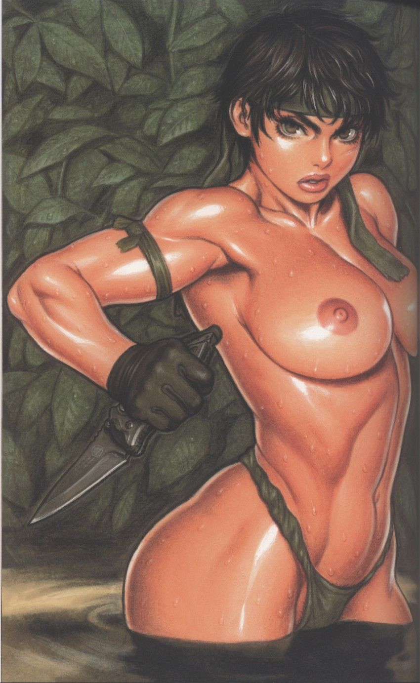 Erotic military women