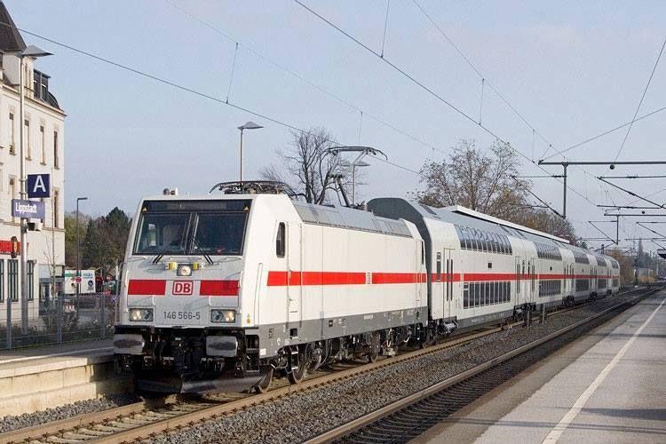 Pin auf Eisenbahn Deutsche Bahn AG