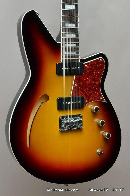 Reverend Airwave 12 String - 3 Tone Burst - Maury\'s Music | Guitars ...