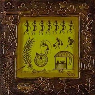 Warli- the tribal art form in Maharashtra. Home dcor ...