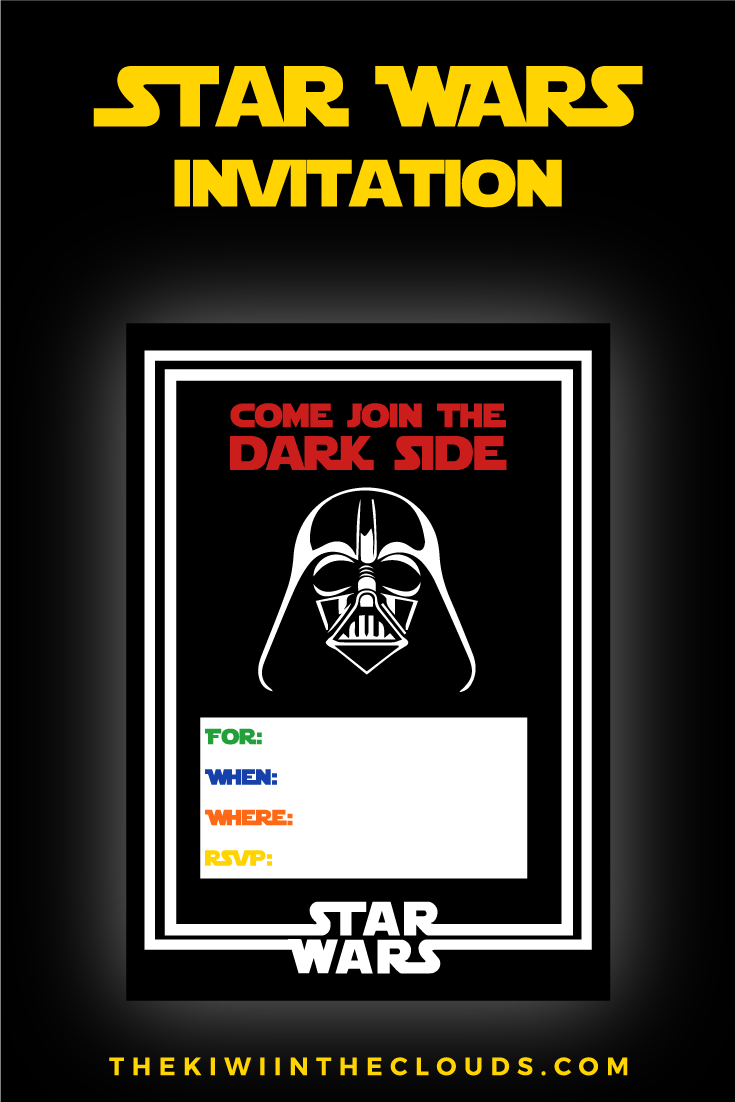 FREE Star Wars Party Printables: A No-Stress Way to a Galactic Party ...