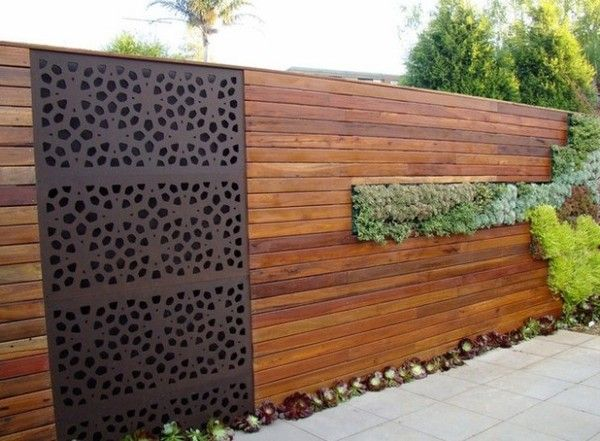 Wooden Fence Design Ideas for Your Outdoor Decoration | Wooden ...