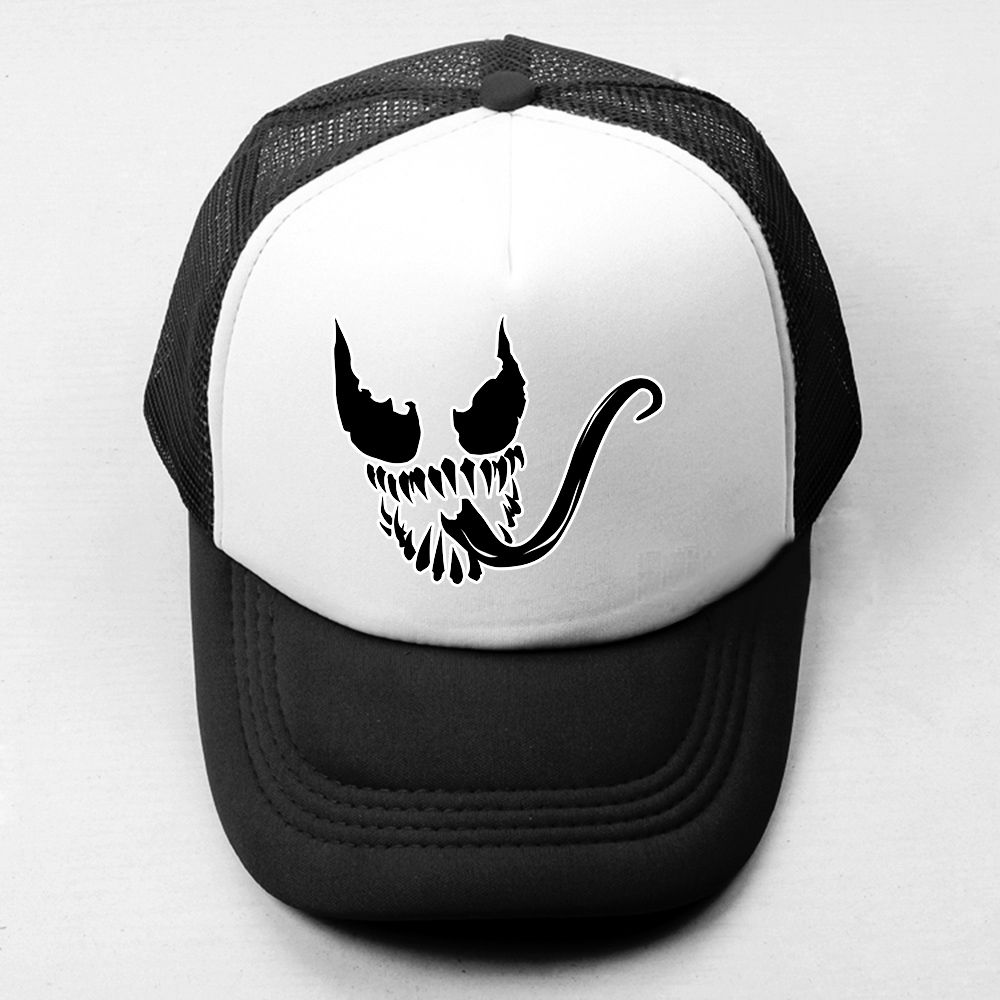 Click To Buy Venom Spider Man Villain Retro Baseball Cap Men Women Attack On Titan Cosplay Boy S Girl S Hat Baseball Caps Mens Girl With Hat Cosplay Boy